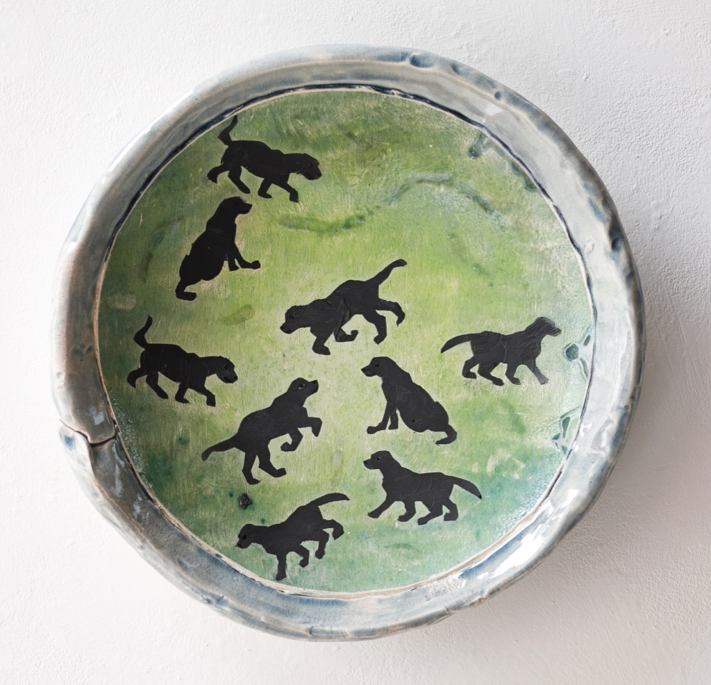 'Your own Small black dogs' charger